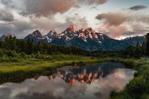 If you ever get a chance to lift up your eyes to the Grand Tetons I hope you're as blown away as I was